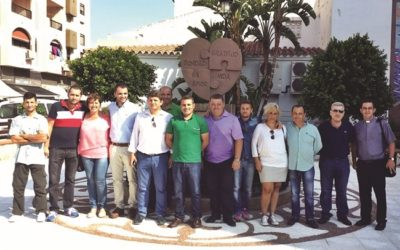Inauguration of Plaza Donante in Sabinillas